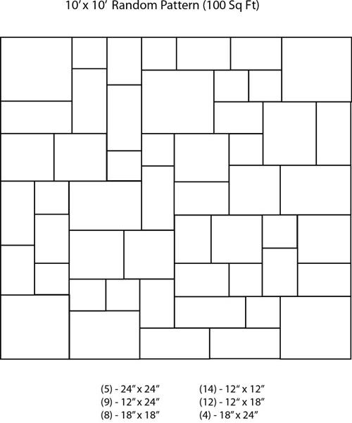 10 x 10 Random Pattern